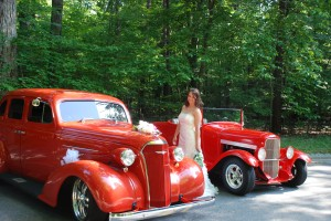 Hot Rod Wedding