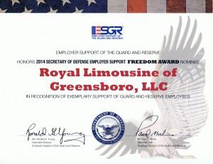 Freedom Award