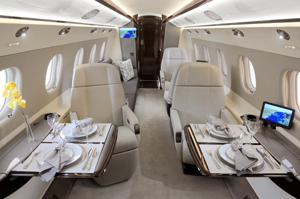 Private Jet Interior 1